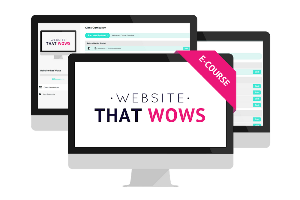 Squarespace Online Course Website that Wows