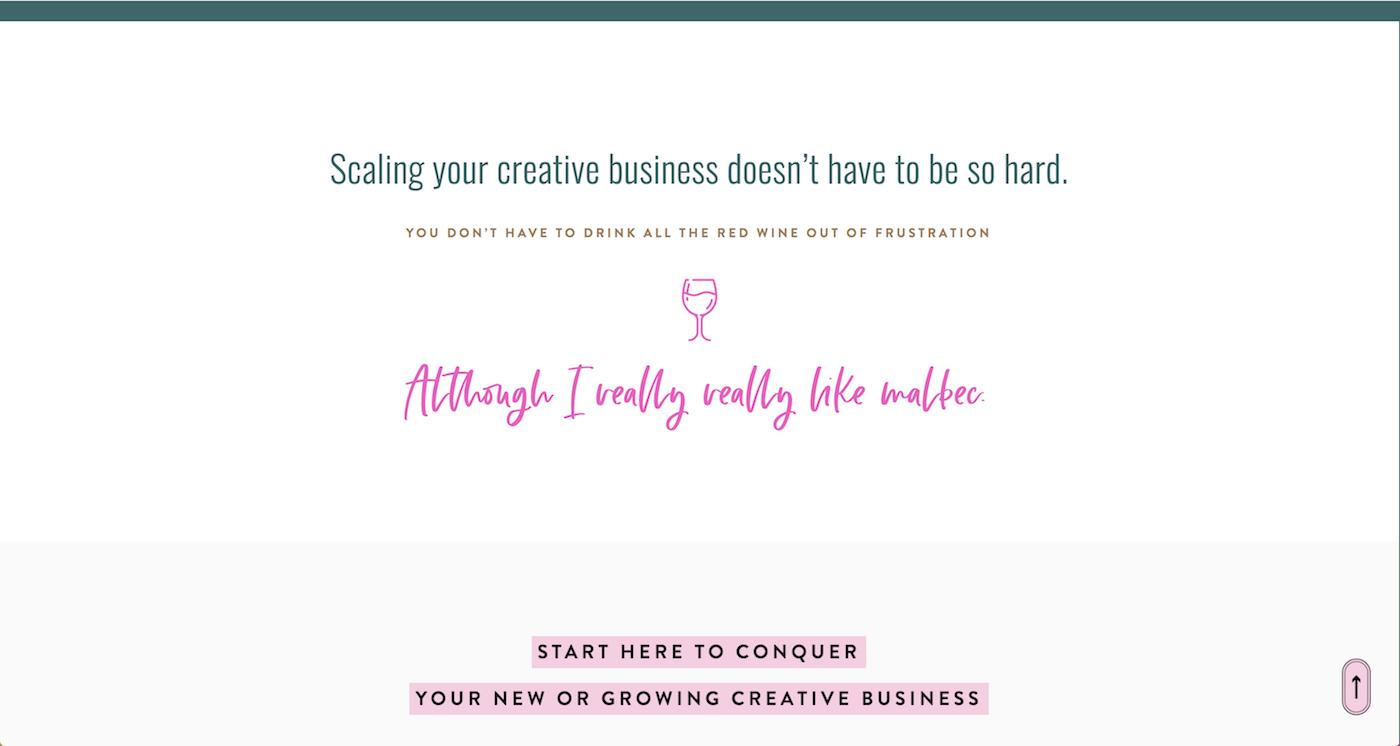 Squarespace-Website-Examples-Custom-Font