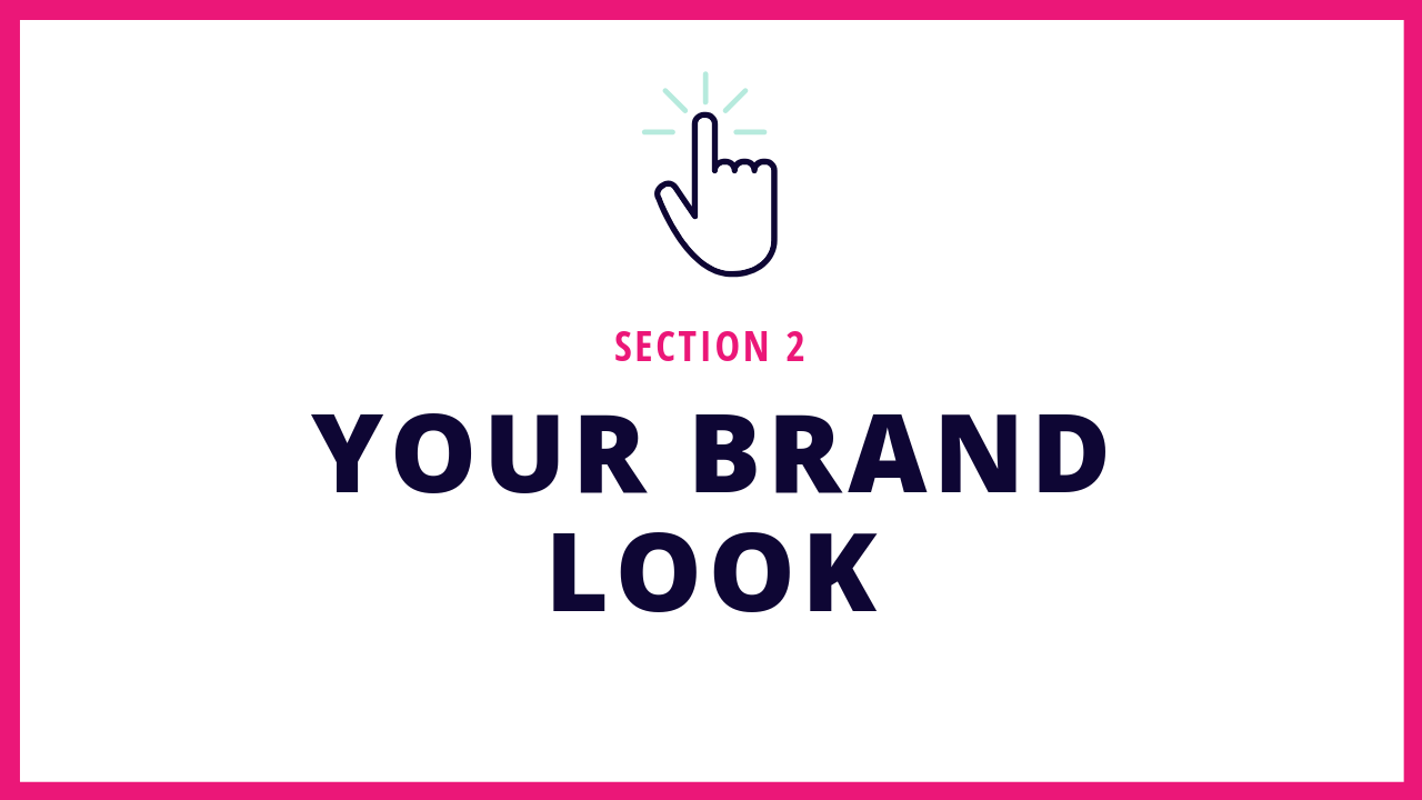 Section 2 of this Squarespace online course teaches you how to create a brand that you love.