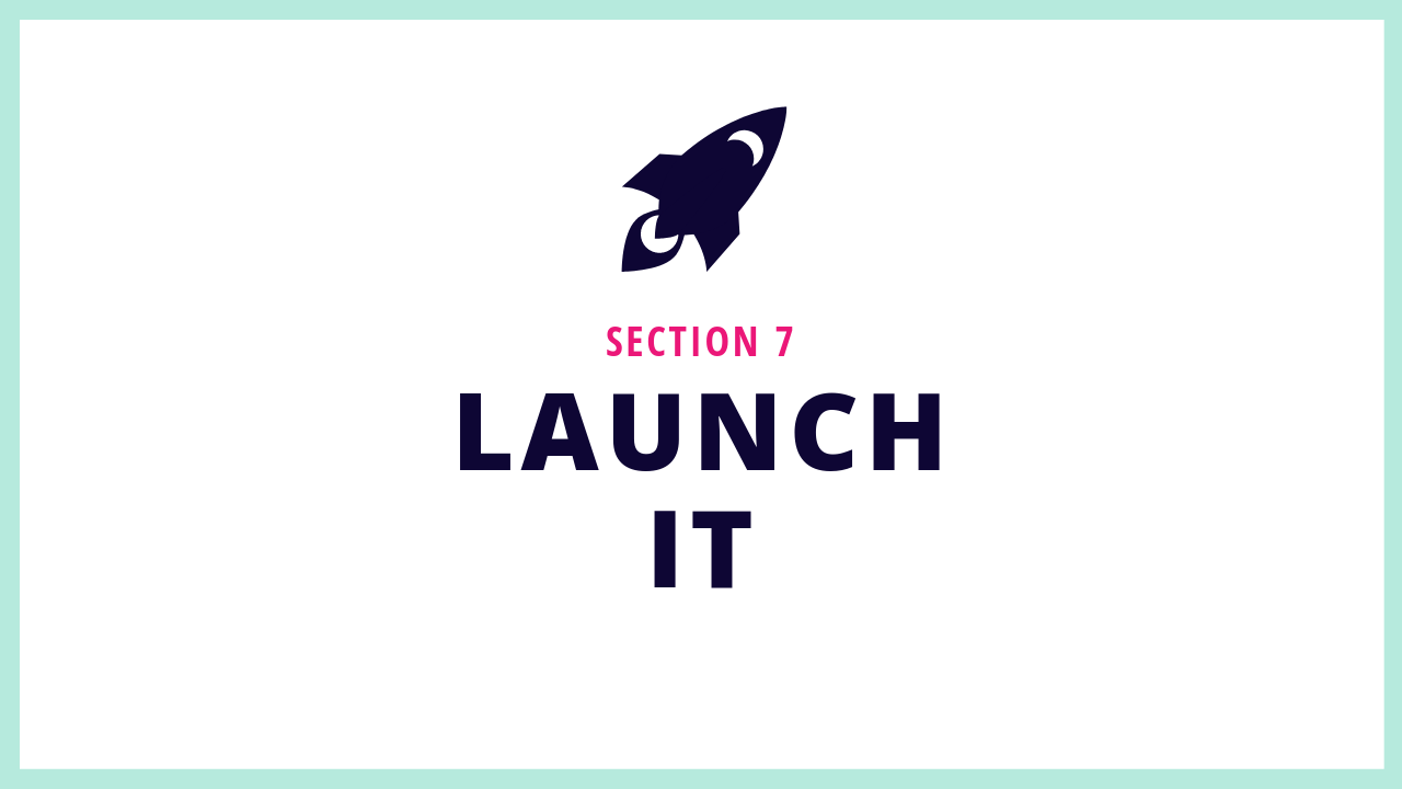 Section 7 of this Squarespace online course shows you how to launch your Squarespace website correctly.