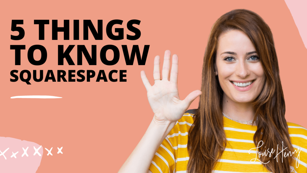 The Ultimate Guide To Squarespace Templates Louise Henry Tech Expert Online Business Strategist