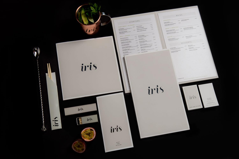 Iris Branding Top View