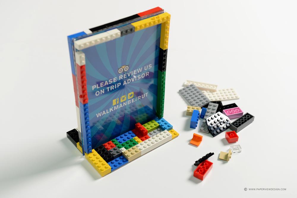 Walkman lego design