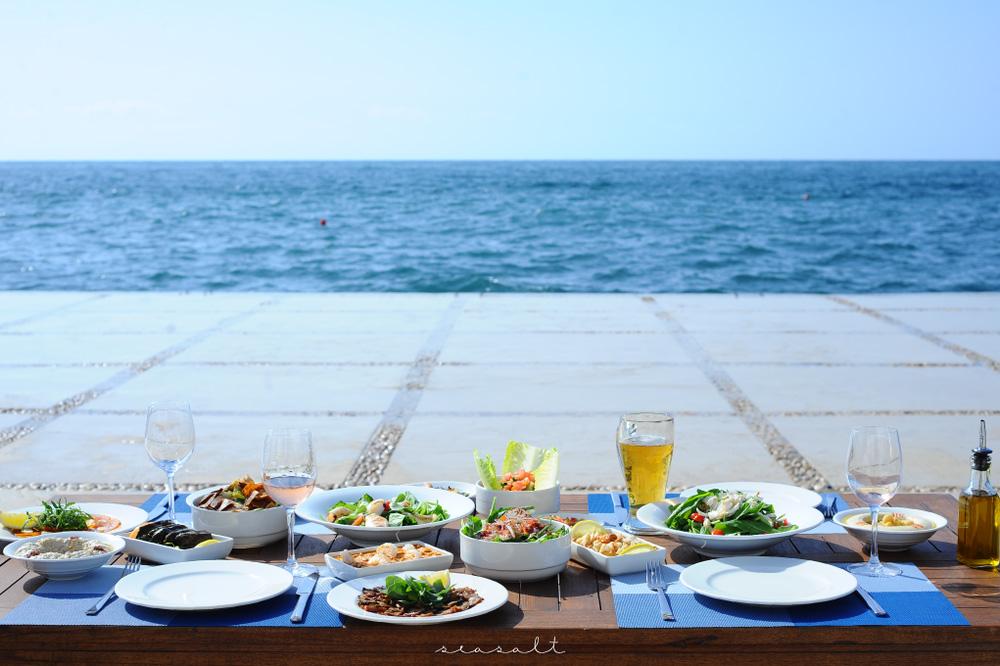 Seasalt Beirut Mezze Table