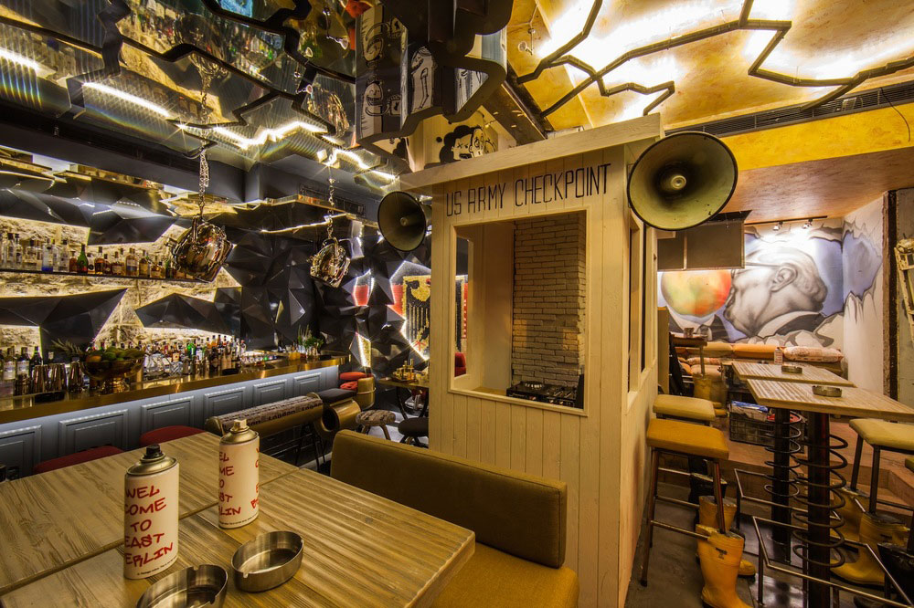 Checkpoint Charlie Beirut Pub Inside Decoration