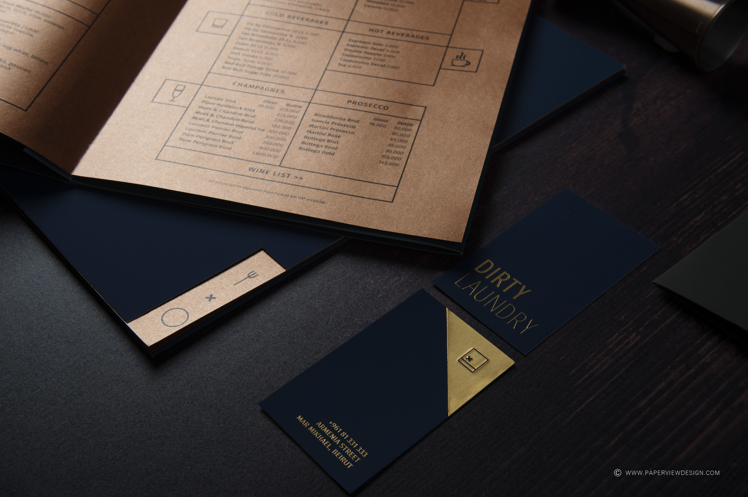 Paper-Inside-Sheets-Copper-Colors-Wine-Menu-Icons-Branding-Identity
