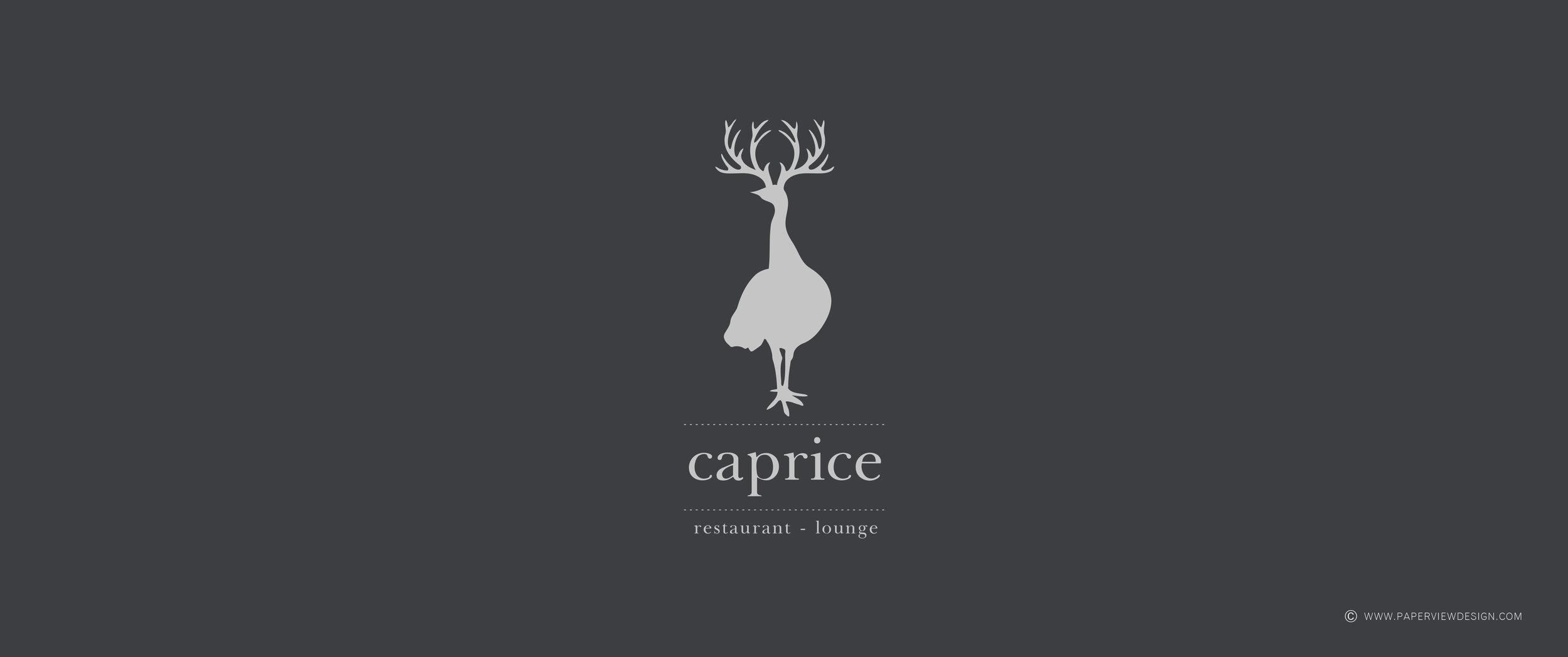 Caprice-Logo-Identity-Bar-NightClub-Restaurant-Lounge
