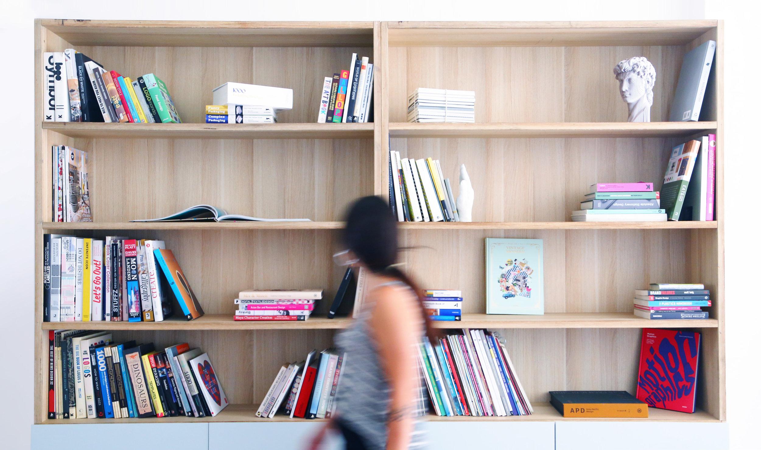 Branding-Agency-Design-Books-Graphics-Library-Office-Art