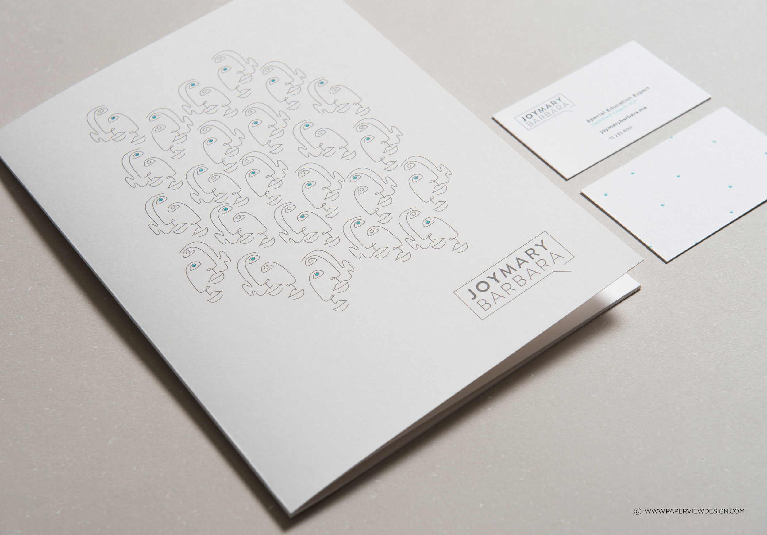 Joy-Mary-Barbara-Life-Coach-Identity-Business-Card-Note-Book