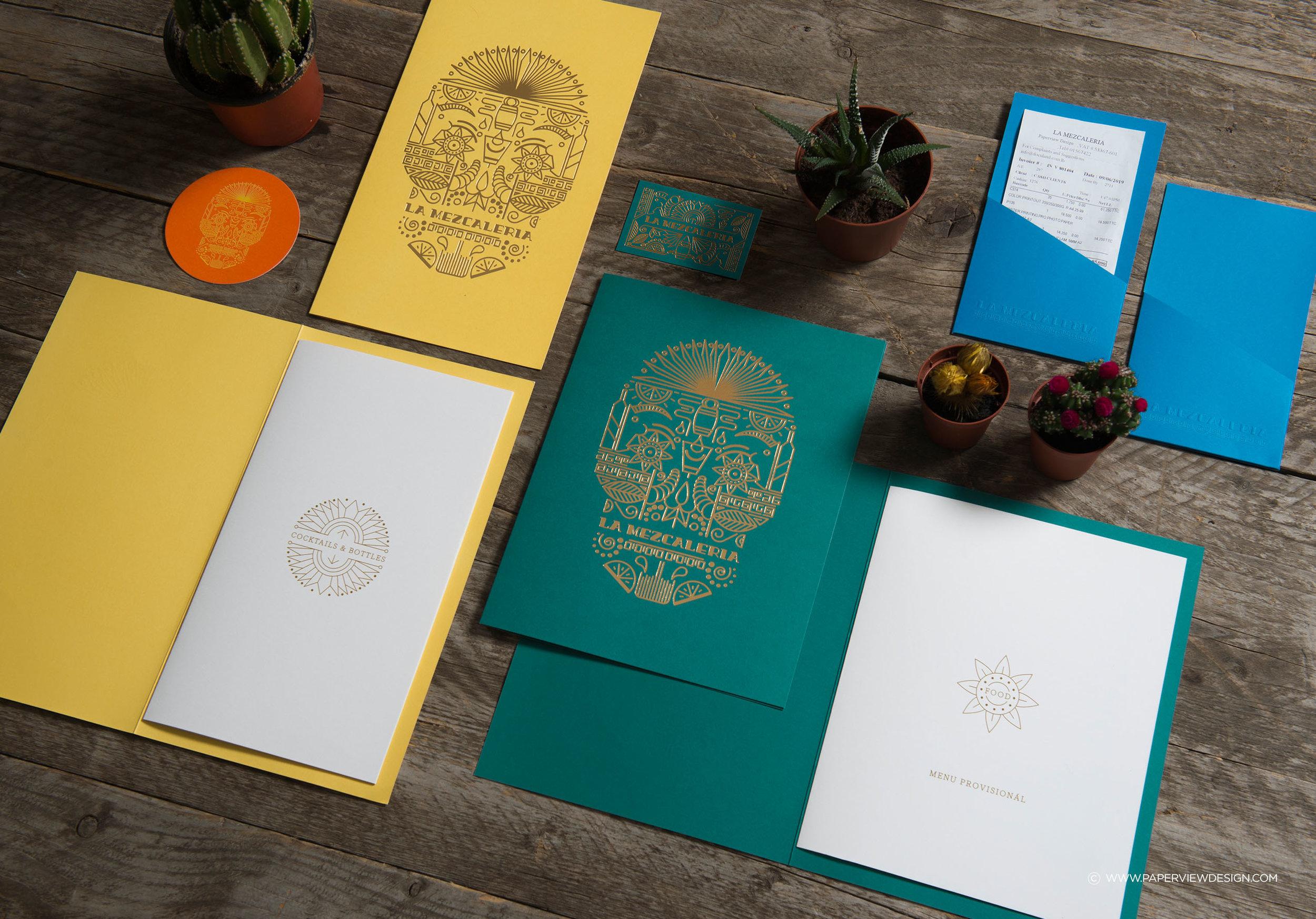 LaMezcaleria-Identity-Branding-Mexican-Bar-Restaurant-Skull-Illustration