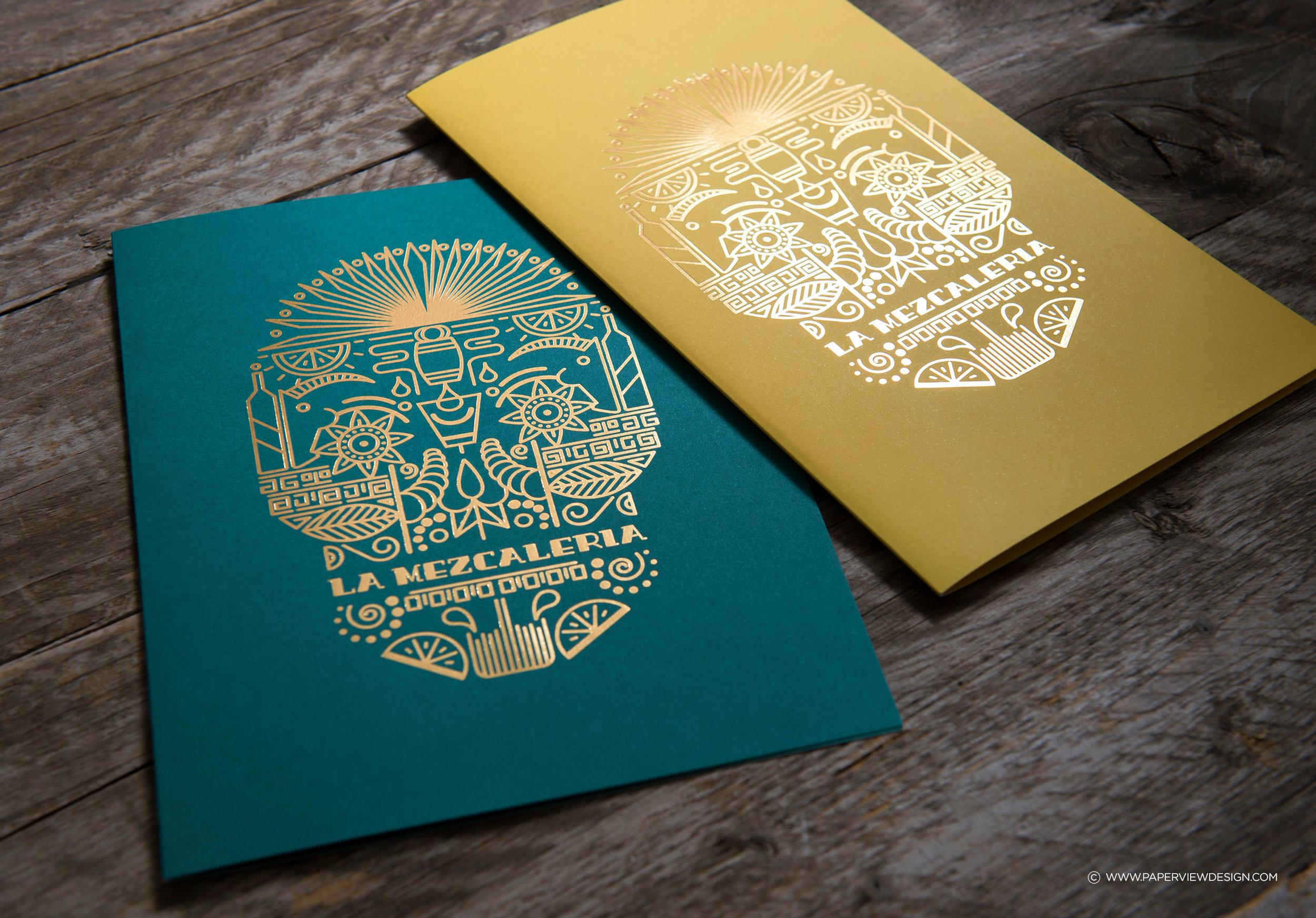 LaMezcaleria-Identity-Branding-Mexican-Bar-Restaurant-Skull-Illustration-Menu