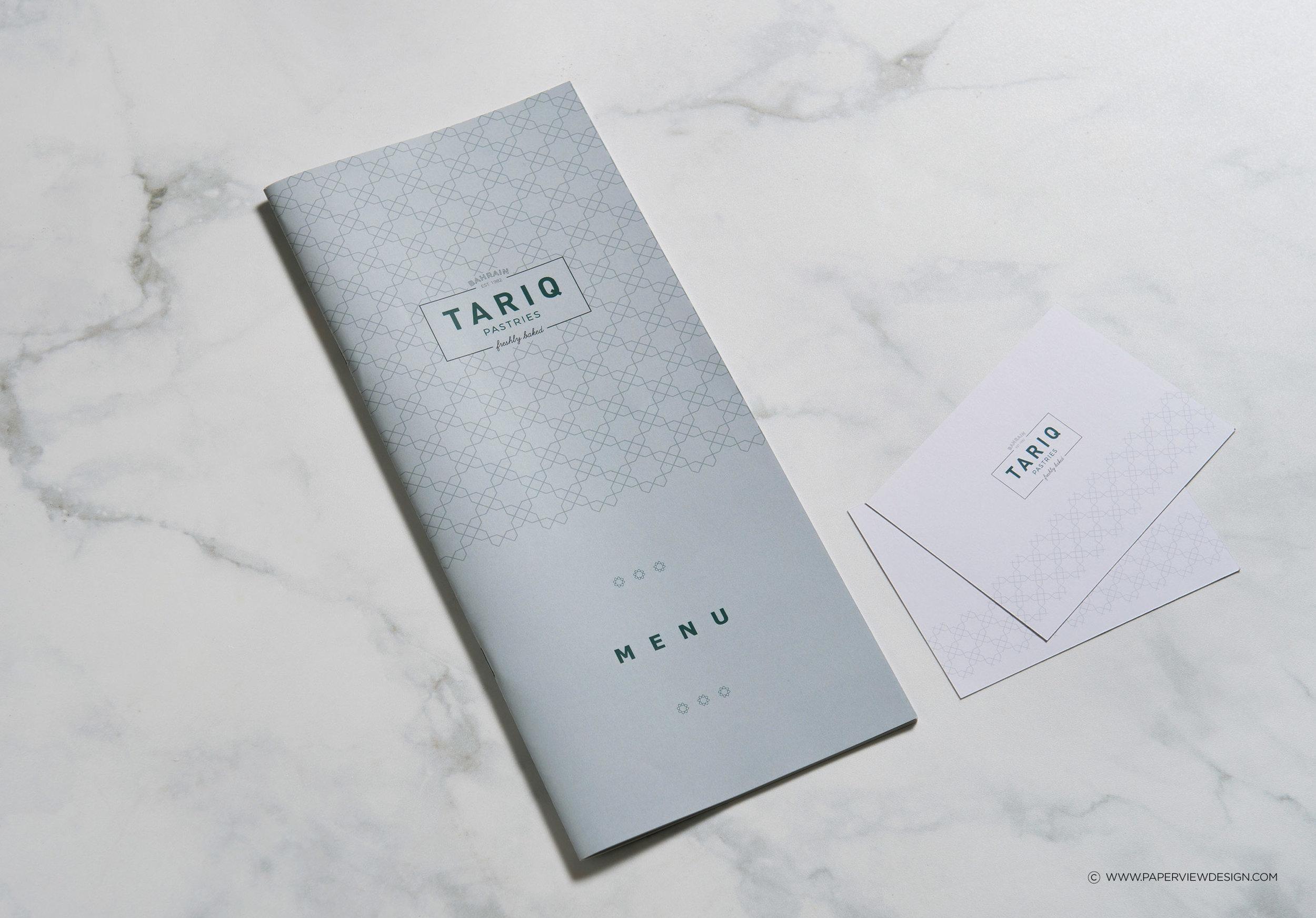 Tariq-Pastries-Cards-Branding-Bahrain-Menu