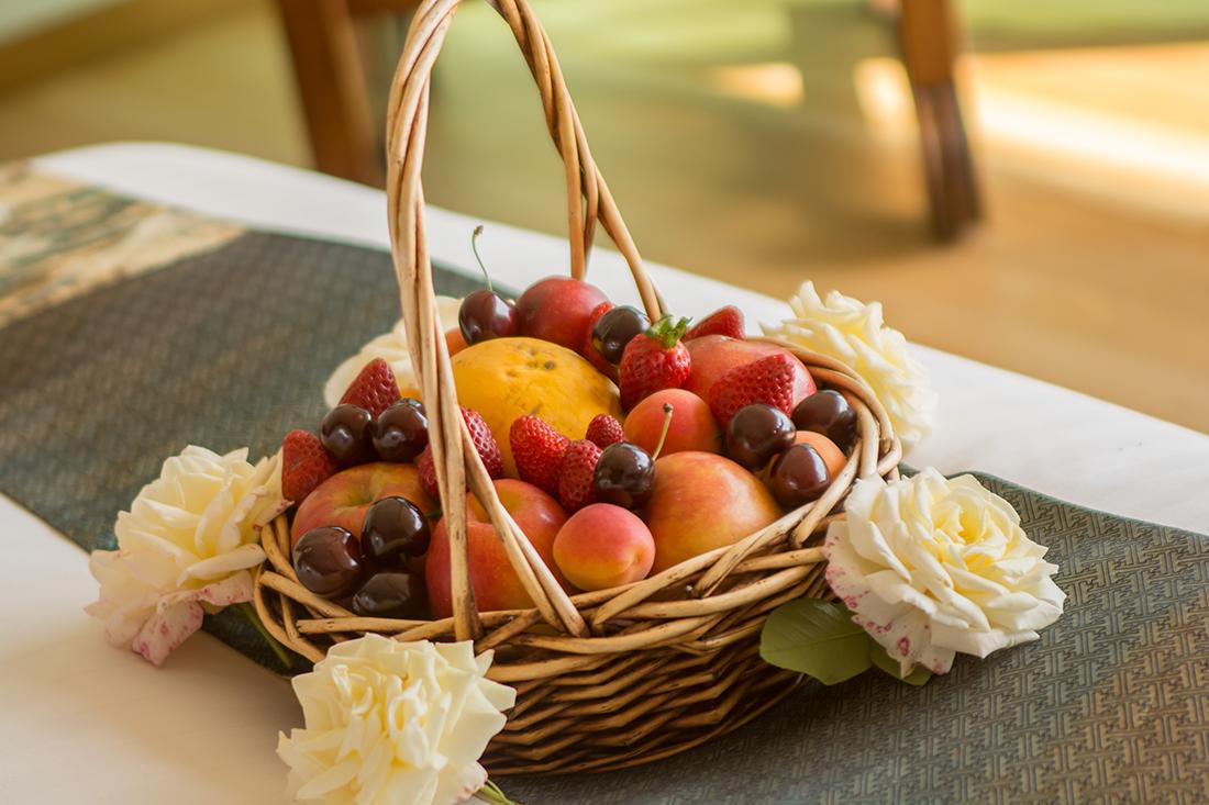 Farm-fresh fruits and berries