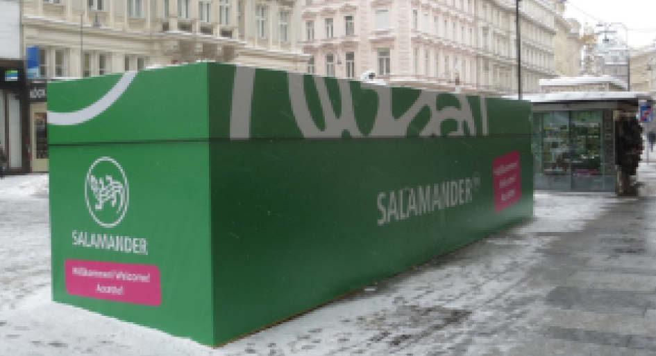 Kunde: Salamander  Projekt: Ambient