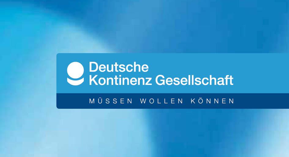 Kunde: Deutsche Kontinenz Gesellschaft  Projekt:  Corporate Design