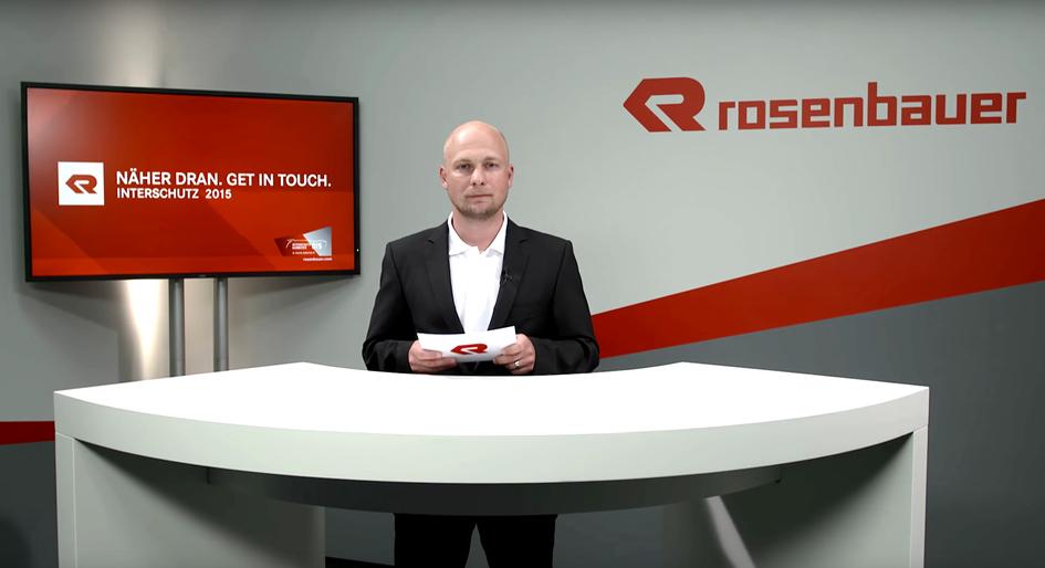 Kunde:  Rosenbauer  Projekt:  Messe-TV
