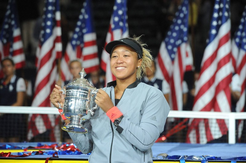 Naomi Osaka is the reigning US Open and Australian Open champion. She is of Japanese-Haitian descent but also identifies as an American (Photo by USTA)