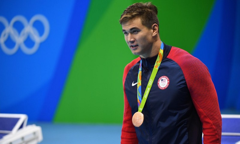 Nathan Adrian is a former Olympic gold medalist and is half-Chinese (Photo by USA Today)