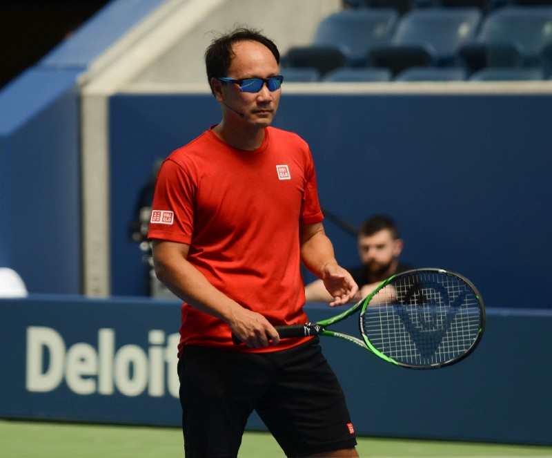 Michael Chang is someone mentioned by many as a role model especially being an Asian-American who's played tennis (Noel Alberto/VAVEL USA)