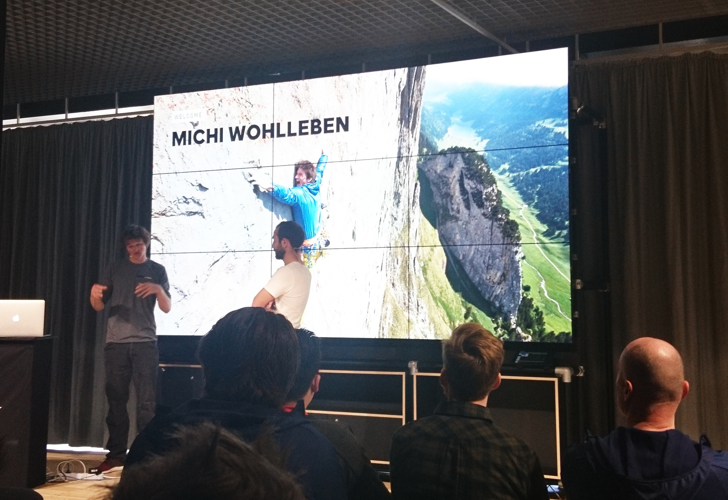 Michi Wohlleben conférence