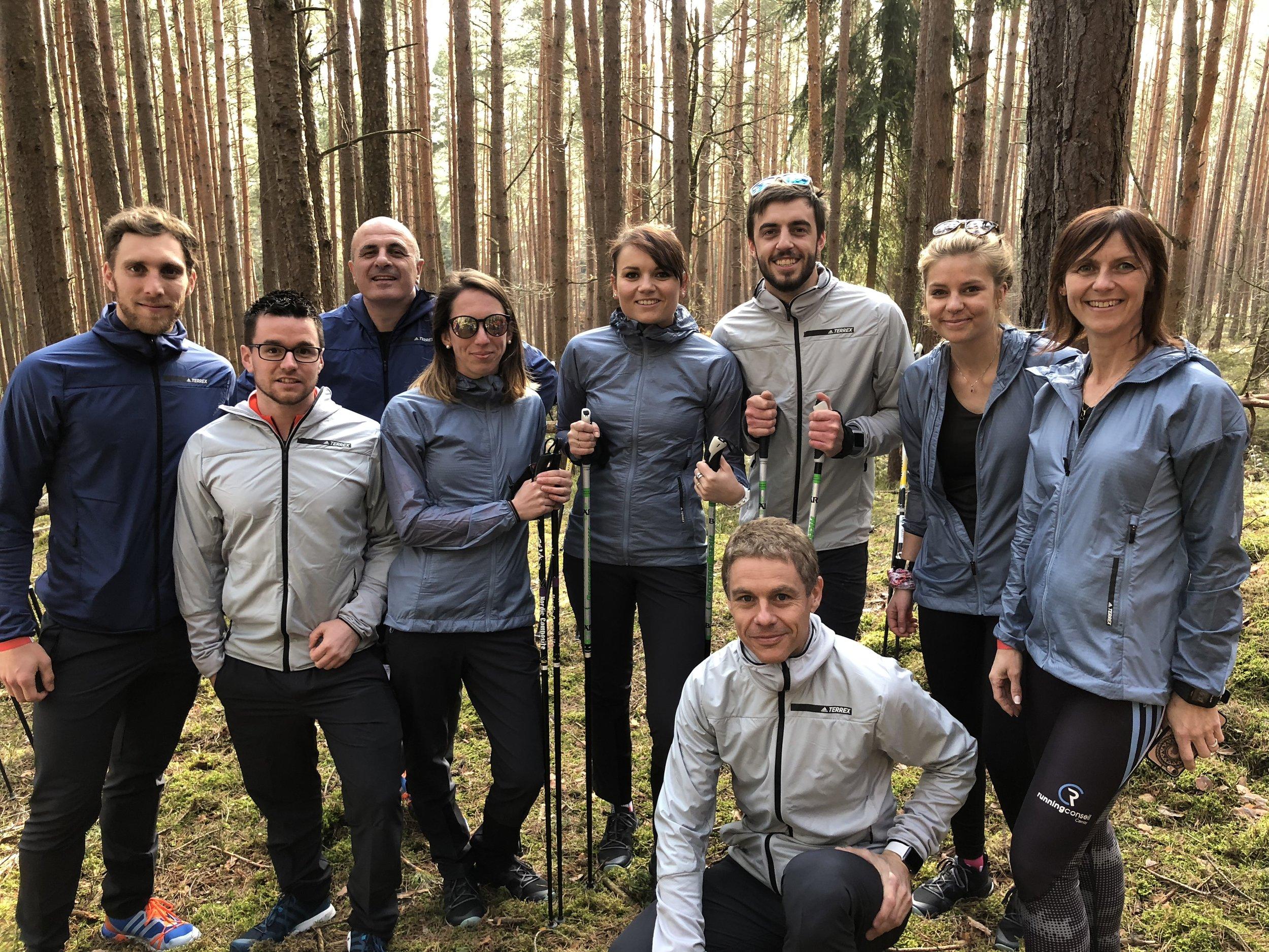 Team France Adidas Terrex Retailer Camp