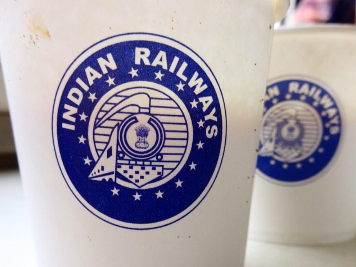 Indian Railways Chai Cups.
