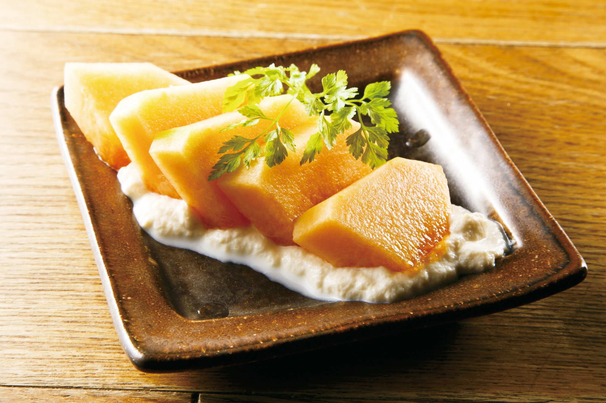 本日の果物白和え Today's Shiraae (Fruit Mix with Tofu Sauce) ($12)