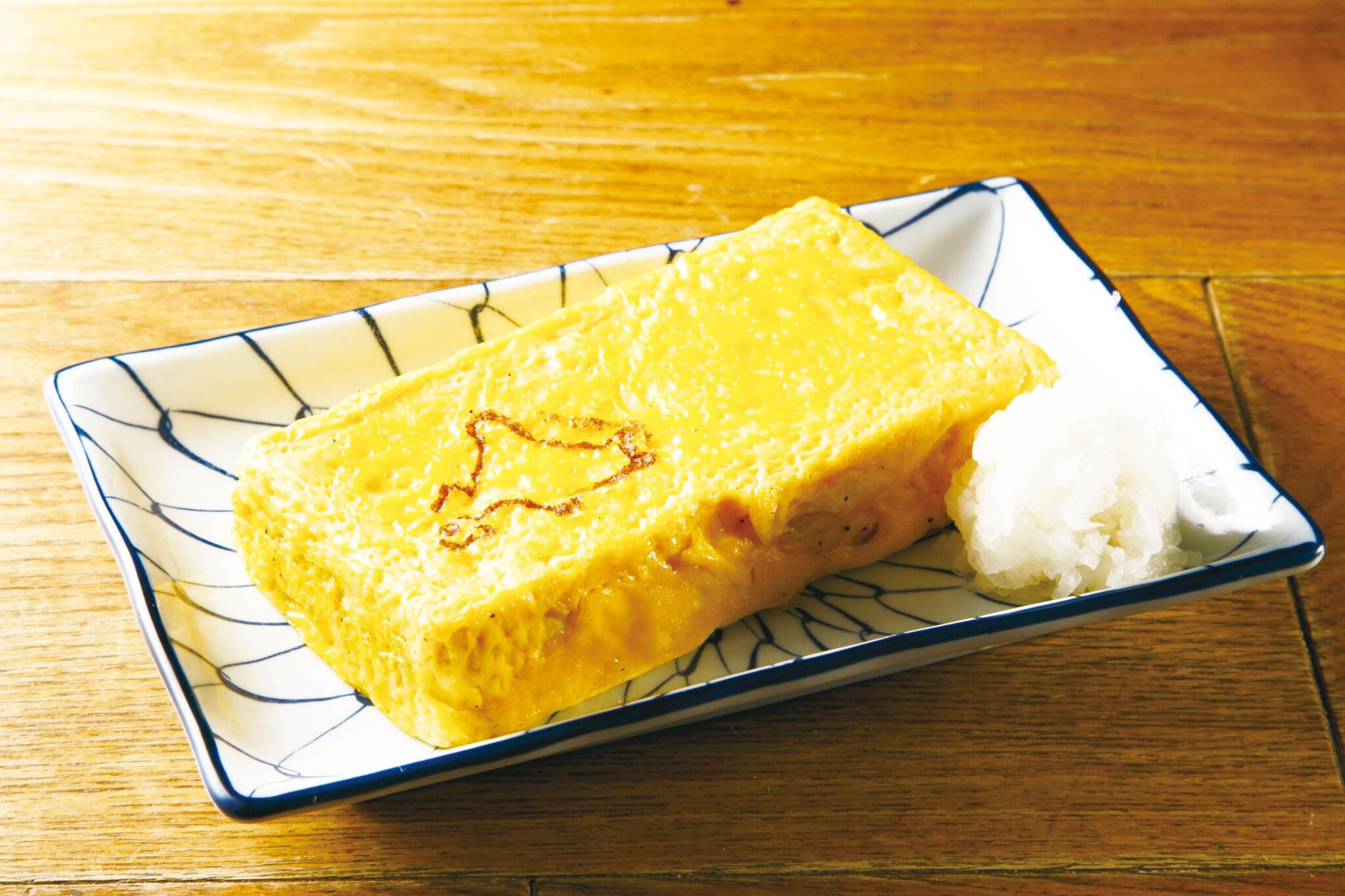 蕎麦屋のだし巻き Japanese Omelette  ($10)