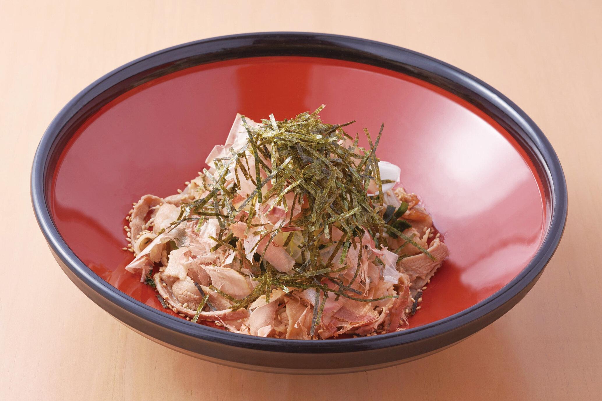 まぜ肉蕎麦 Maze Niku Soba ($15)