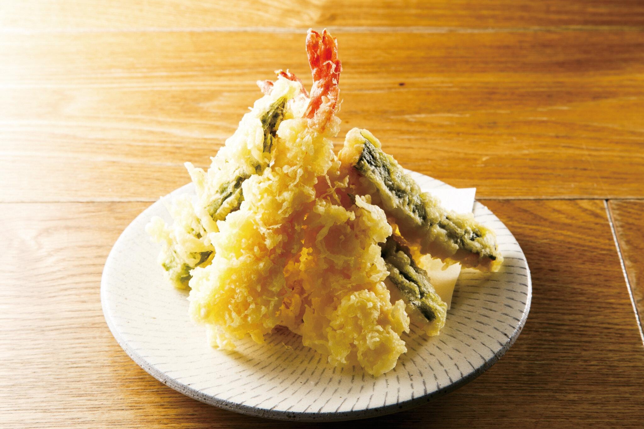 天ぷら盛り Assorted Tempura ($16)
