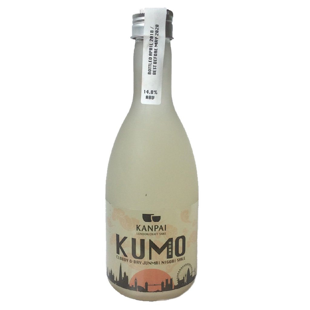 KUMO - Shake it to make it! A lightly cloudy and refreshing sake with light rice sediment. Made using super premium sake rice from Japan...Style: crisp, off-dry, smooth & cloudyFlavour notes: tropical fruits & spiced banana14.8% ABVGohyakumangoku Rice - 70% Milled#7 Japanese Sake YeastLast Release: April 2019400ml