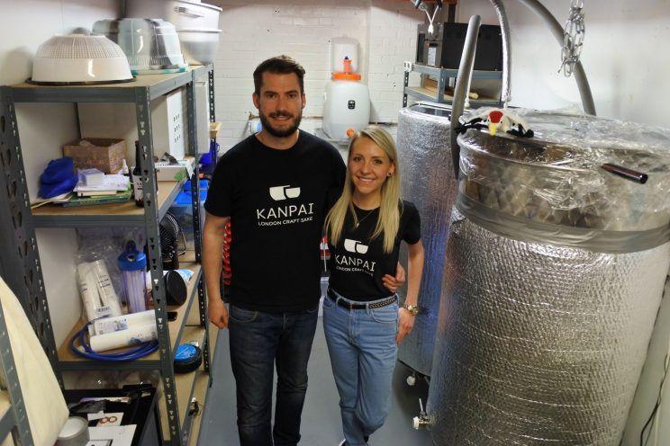 yahoo news - The UK's first sake brewery
