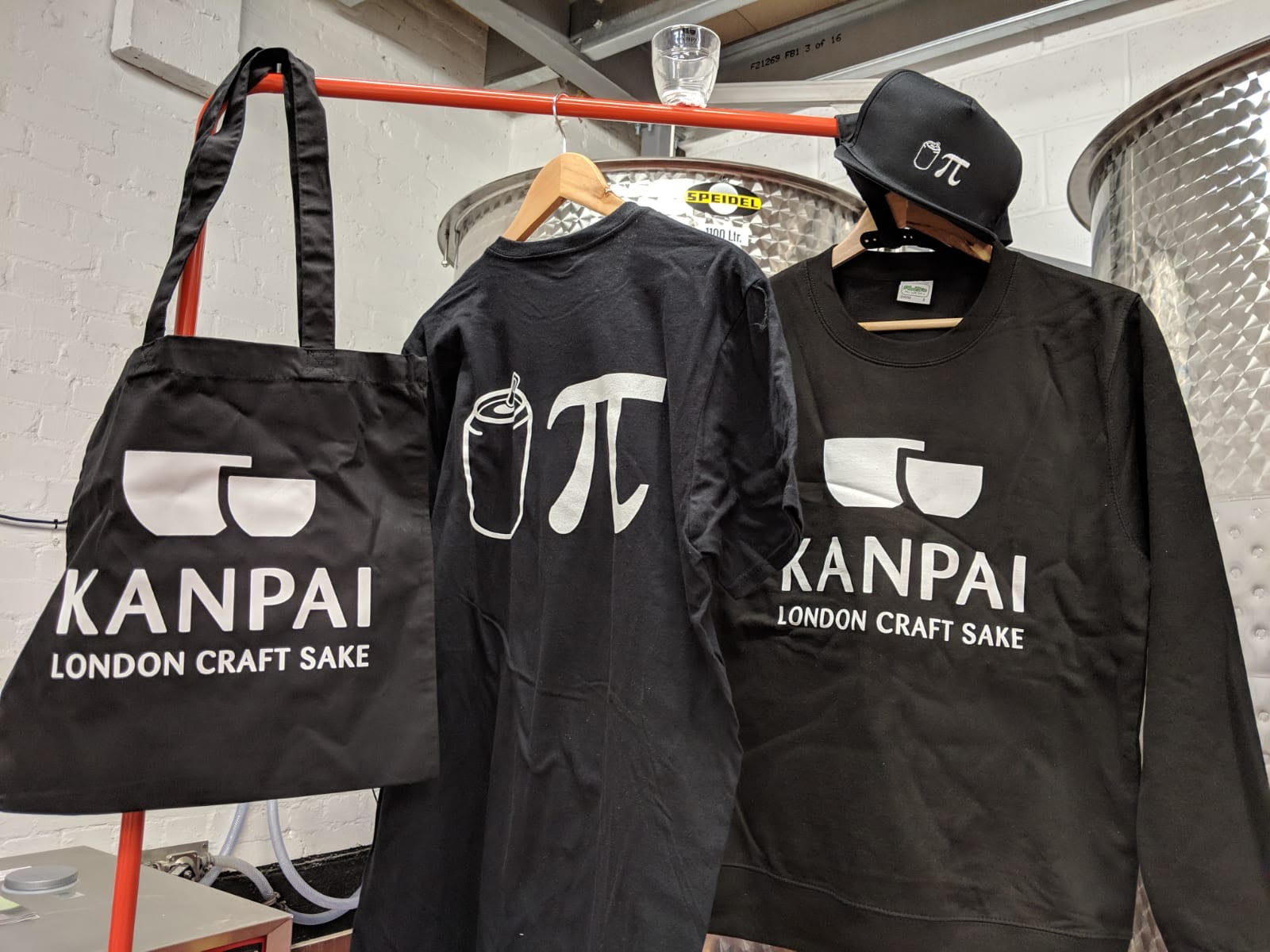 MERCH! - Sweatshirt £30T-shirt £20Cap £15Tote £10Glass £5Only available at the bar.