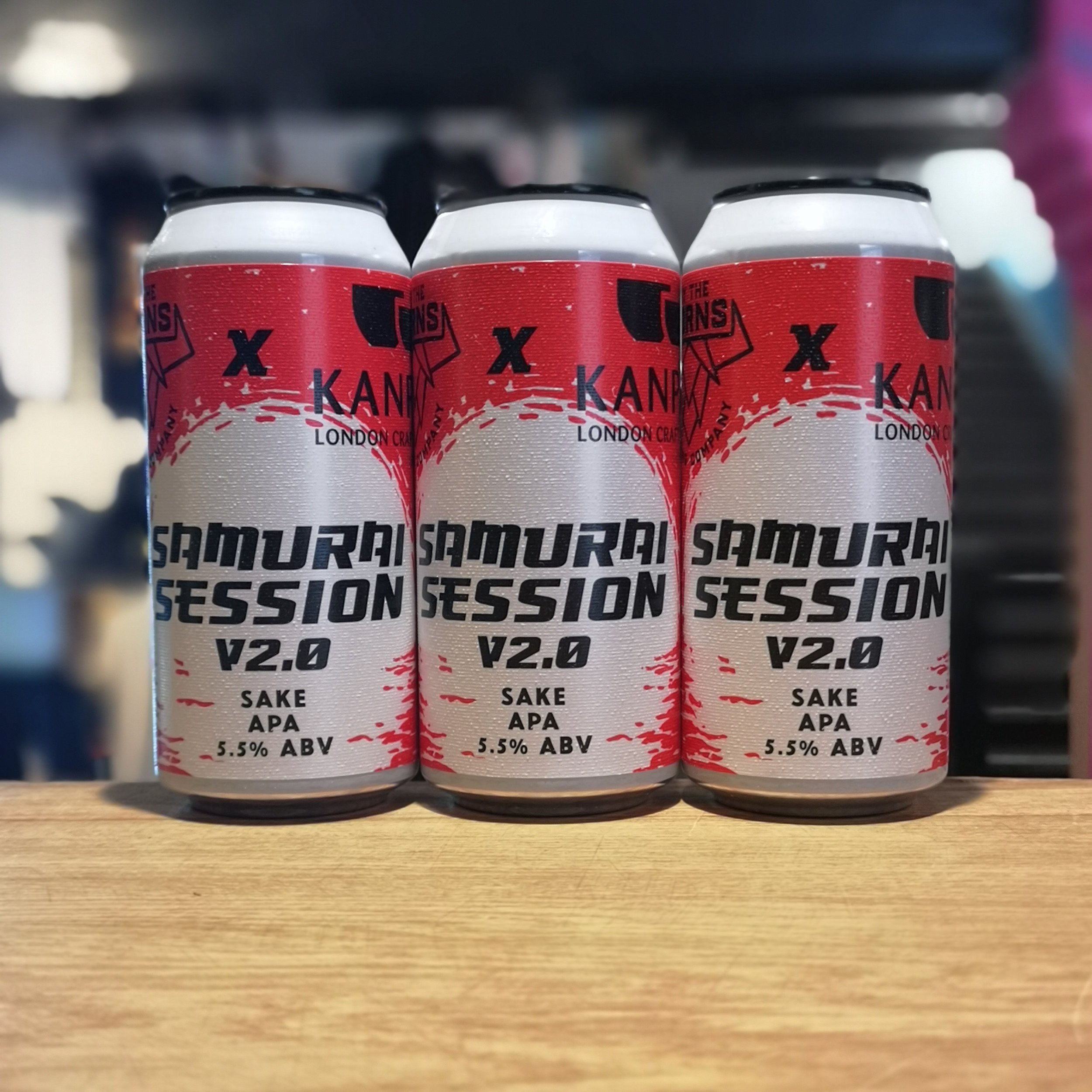 Samurai session 2.0 - Collaboration beer with By the Horns
