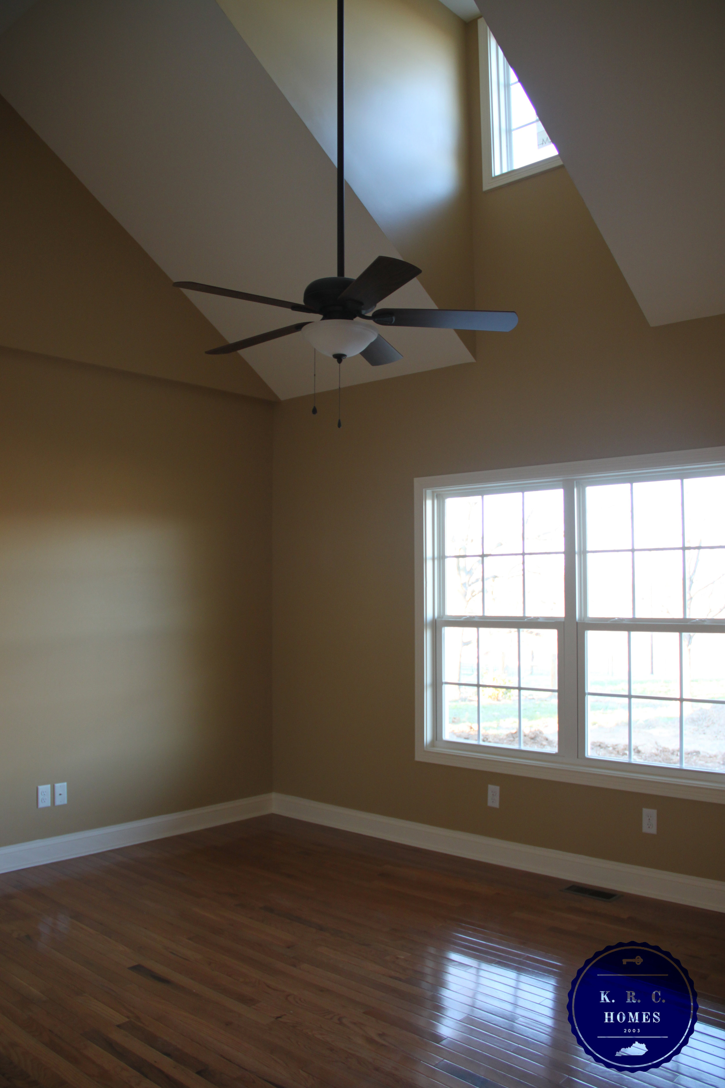 Vaulted Ceilings in the Master Bedroom