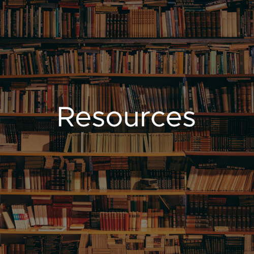 Find local resources, websites, books, podcasts, and more!