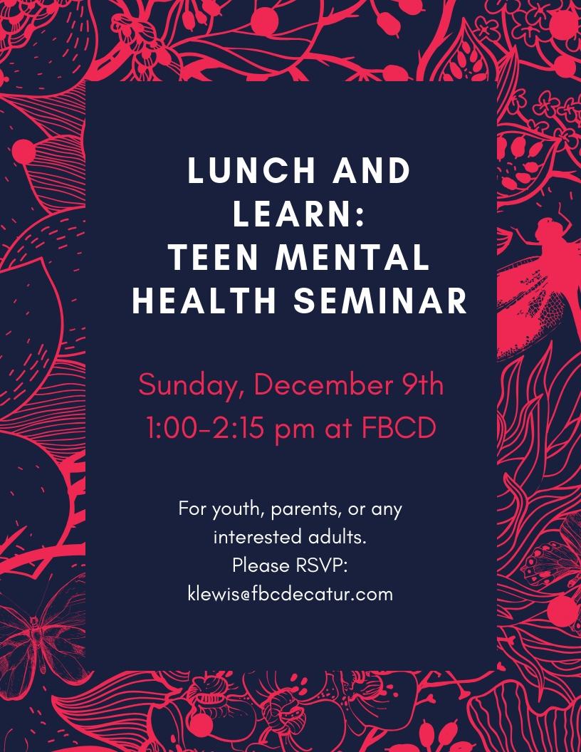 FBCD flyer