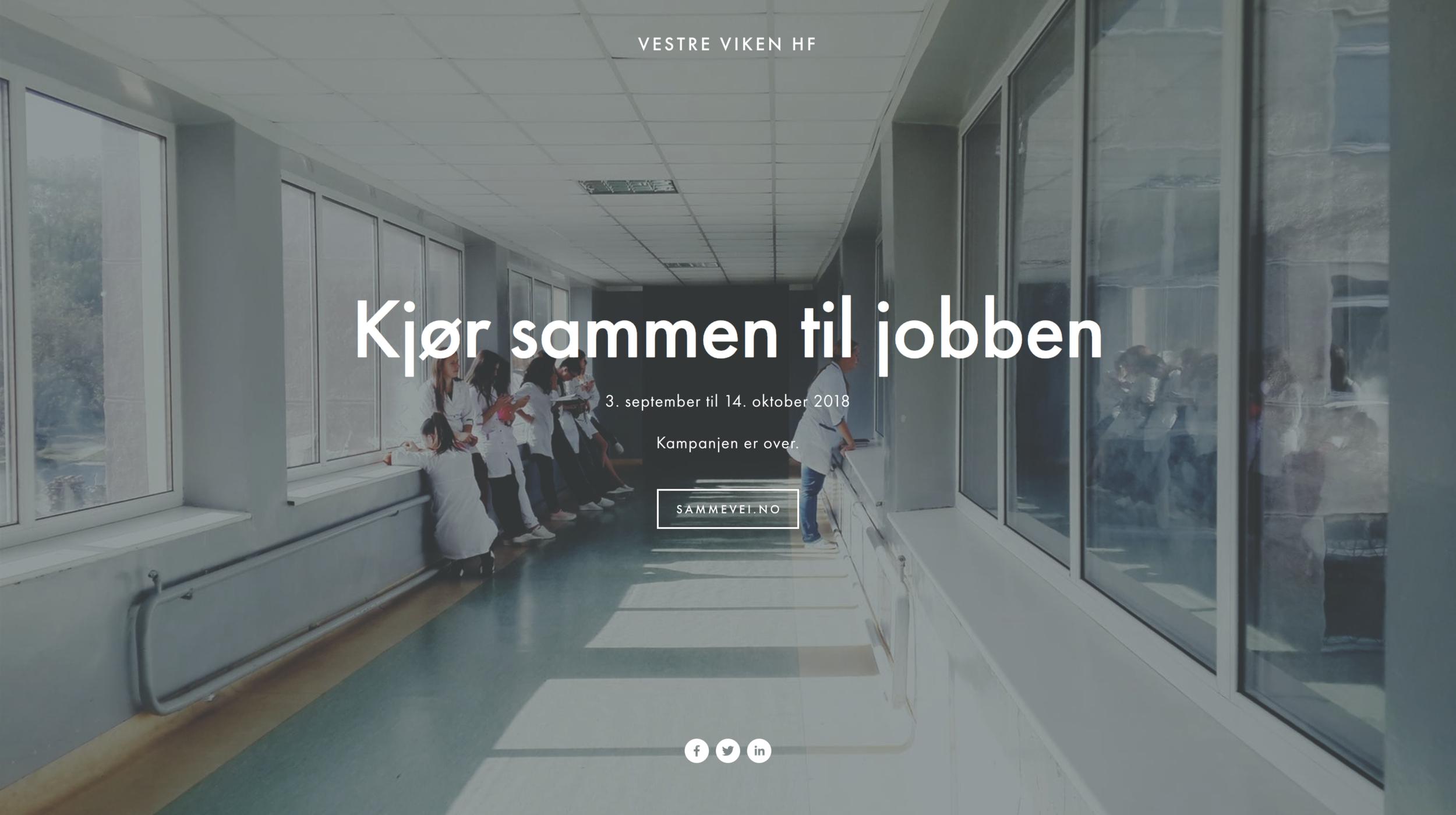 Vestre Viken HF - 03.09. til 14.10.2018
