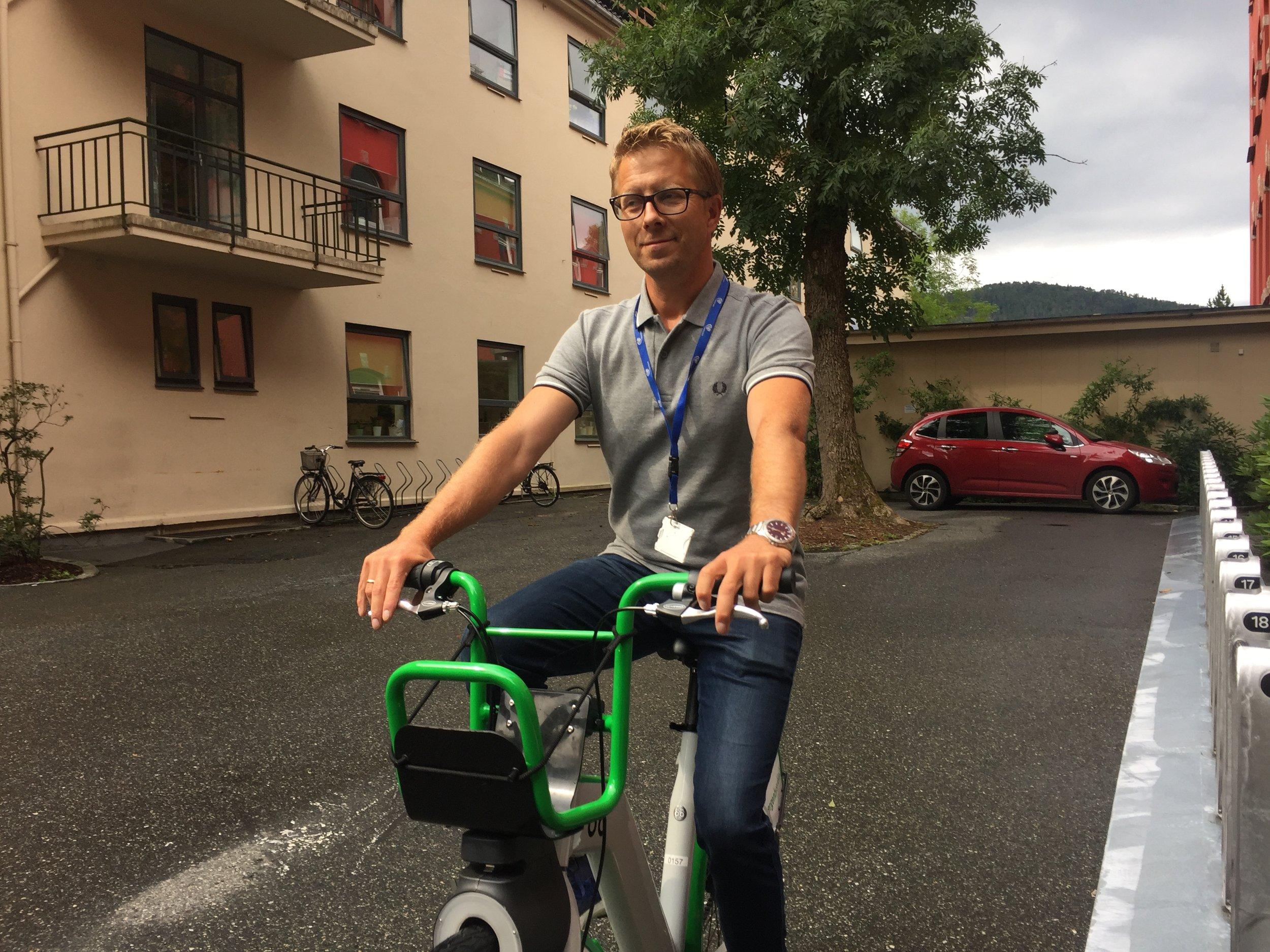 Kristian Amlie, samkjøringsentusiast i Bergen