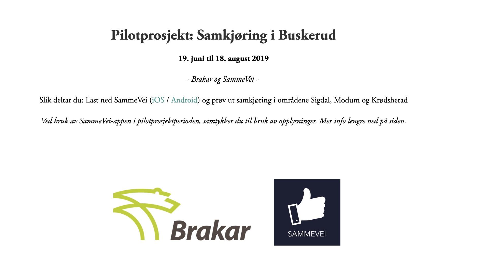 Brakar - 19.06. til 18.08.2019