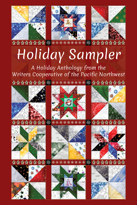 Holiday Sampler  Available in  paperback  and on  Kindle .  Cover artwork provided by Cover&Layout.