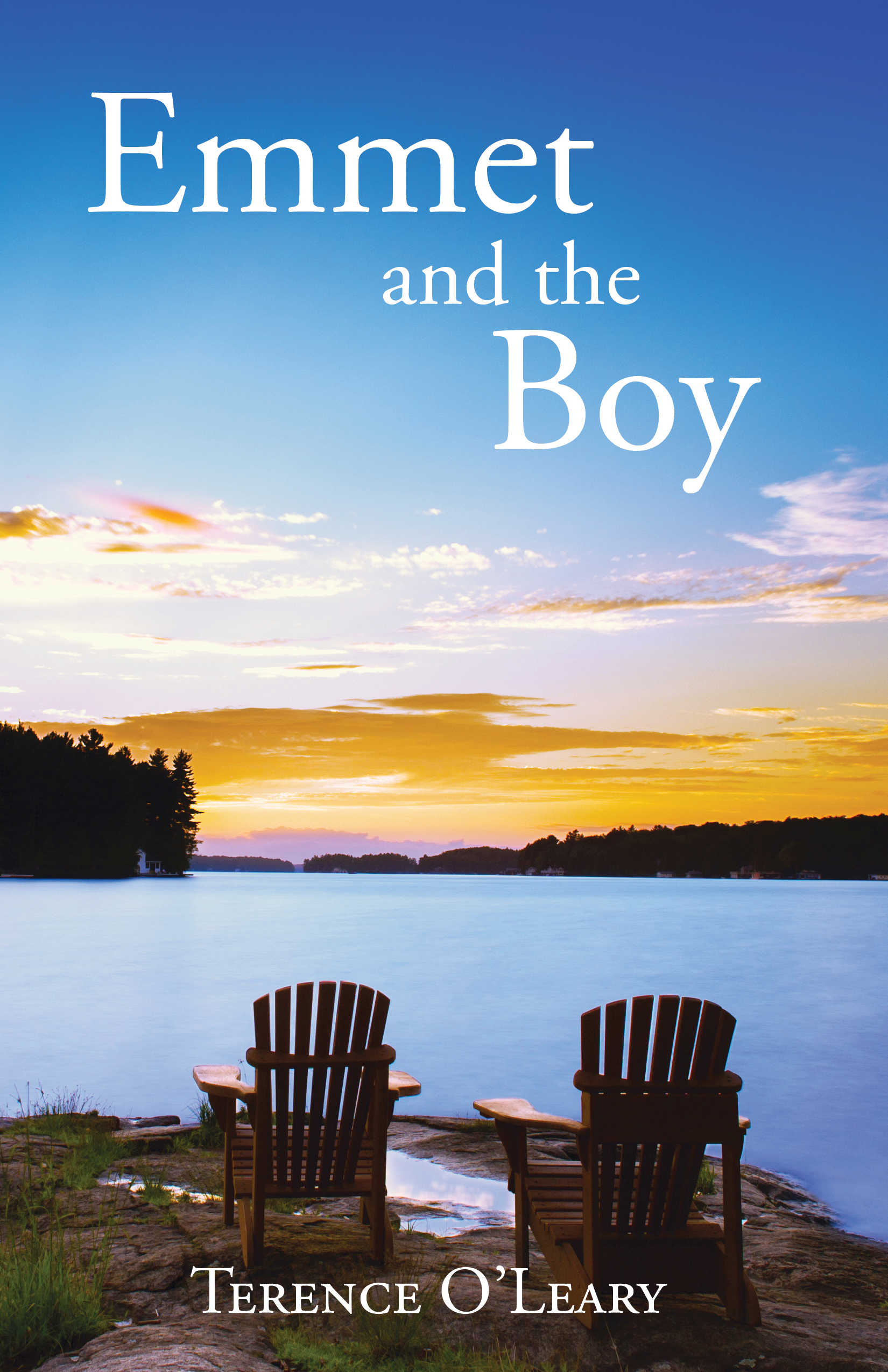 Emmet and the Boy  Available in  paperback  and on  Kindle .  Cover artwork and interior layout design provided by Cover&Layout