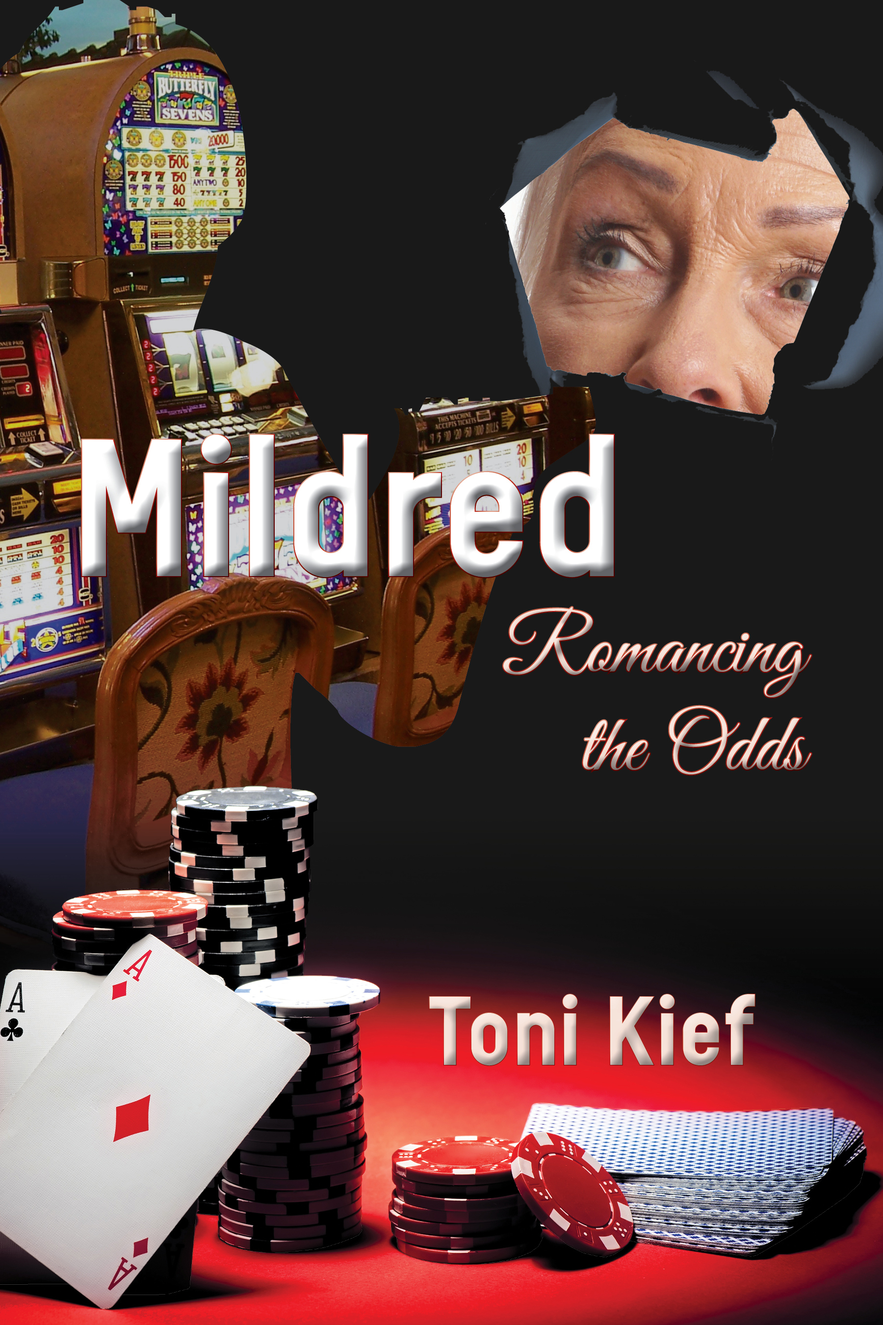 Mildred: Romancing the Odds  Available in in  paperback  and on  Kindle .  Cover artwork and interior layout design provided by Cover&Layout