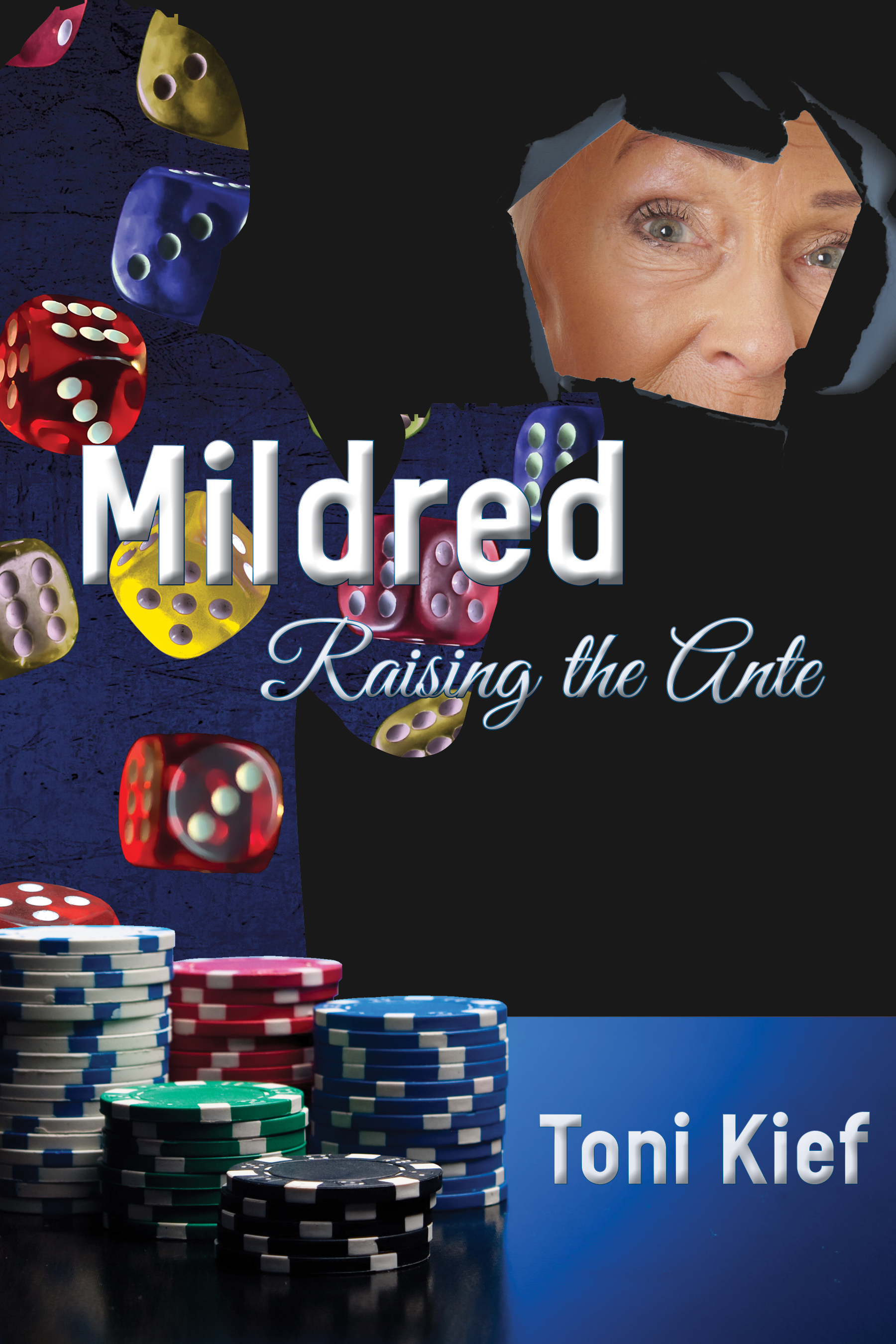 Mildred: Raising the Ante  Available in  paperback  and on  Kindle .  Cover artwork and interior layout design provided by Cover&Layout