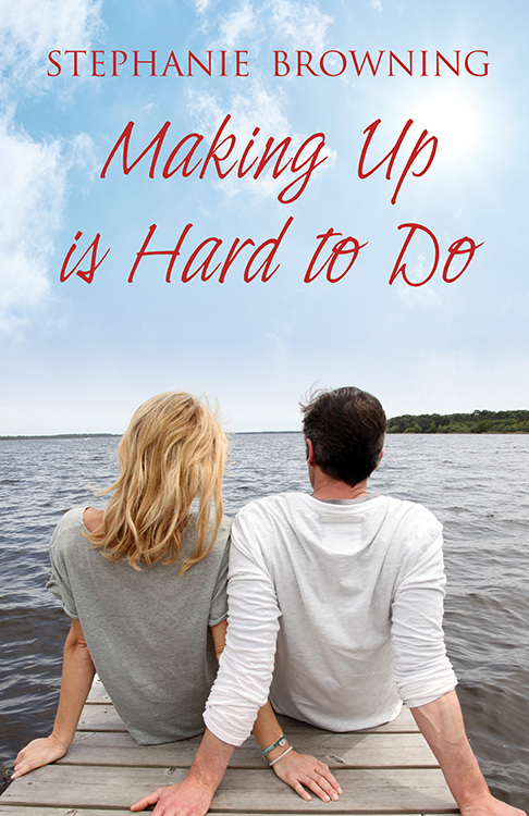 Making Up is Hard to Do  Available  paperback ,  Kindle  and  Kobo .  Cover artwork and interior layout design provided by Cover&Layout