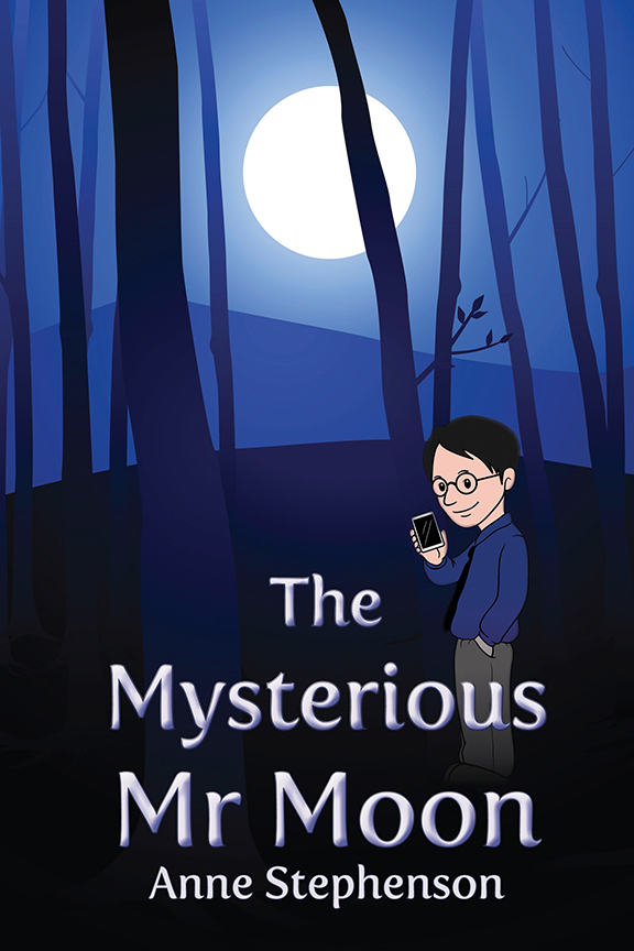 The Mysterious Mr Moon   by  Anne Stephenson  Available on  Kobo  and  Kindle , as well as other ebook platforms!