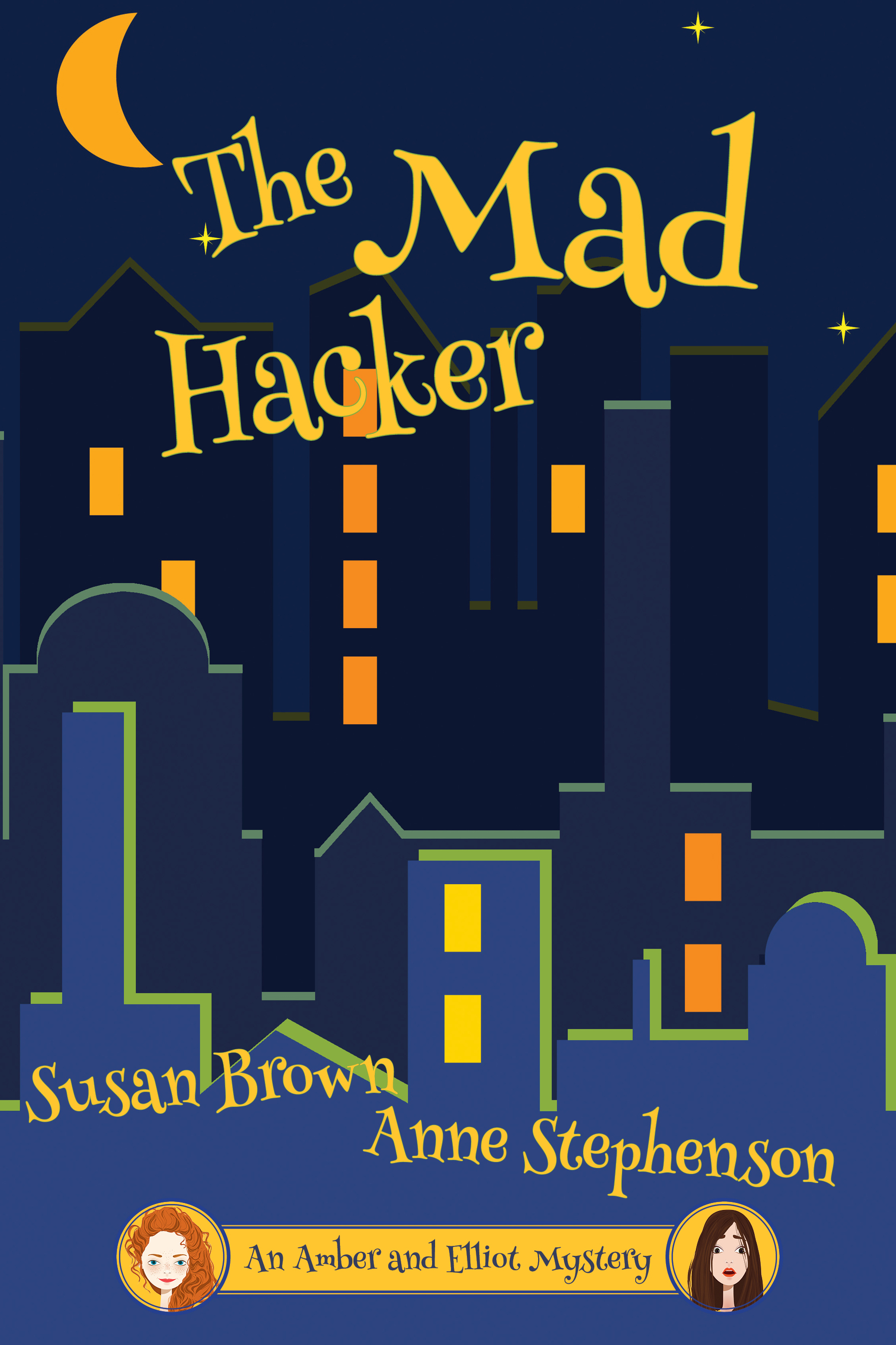 The Mad Hacker  Available on  Kobo  and  Kindle . Available soon in paperback.  Cover artwork and interior layout provided by Cover&Layout.