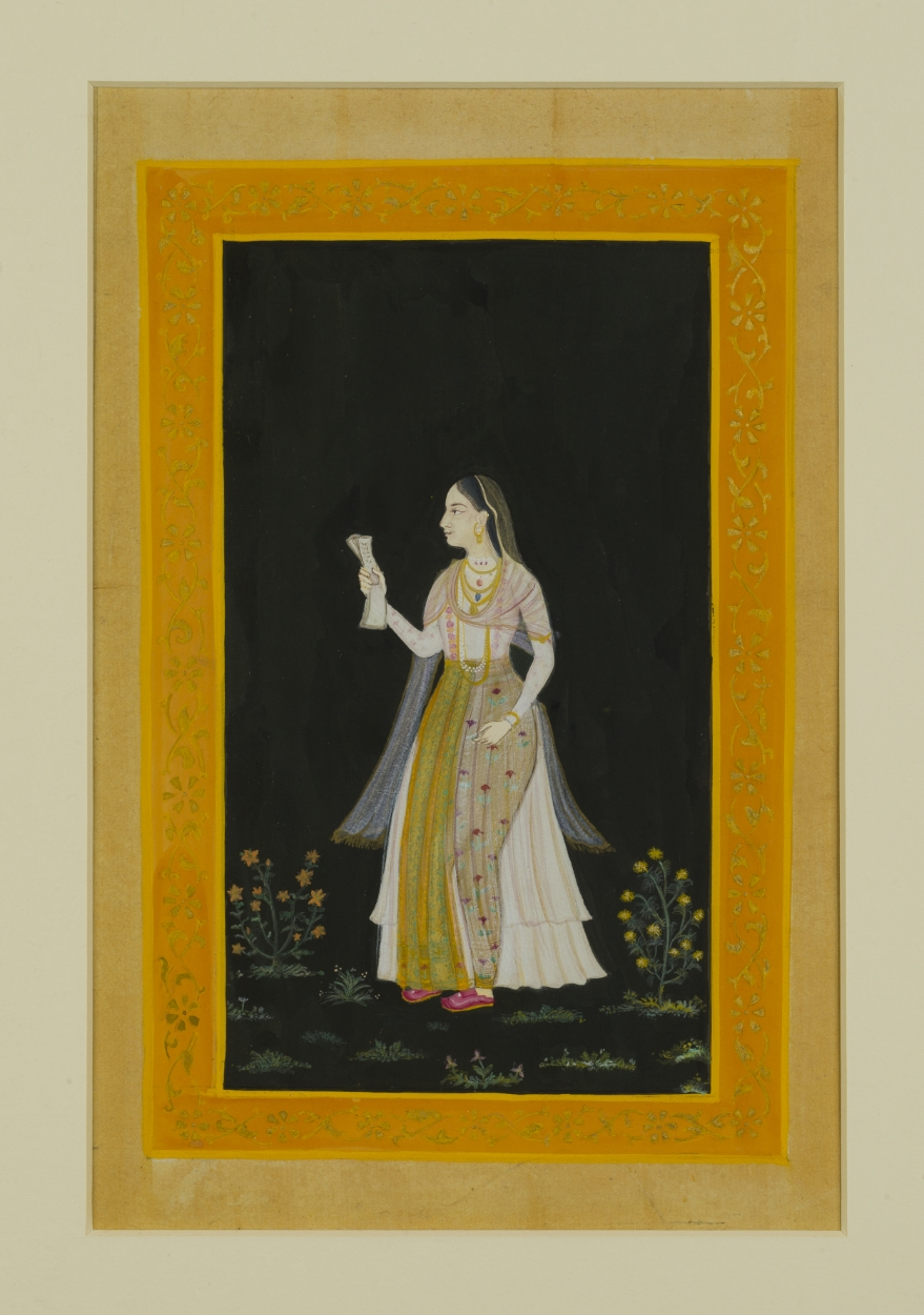 Princess Jahanara ~ Indian Art, Pattern Design, Shaheen Kasmani.