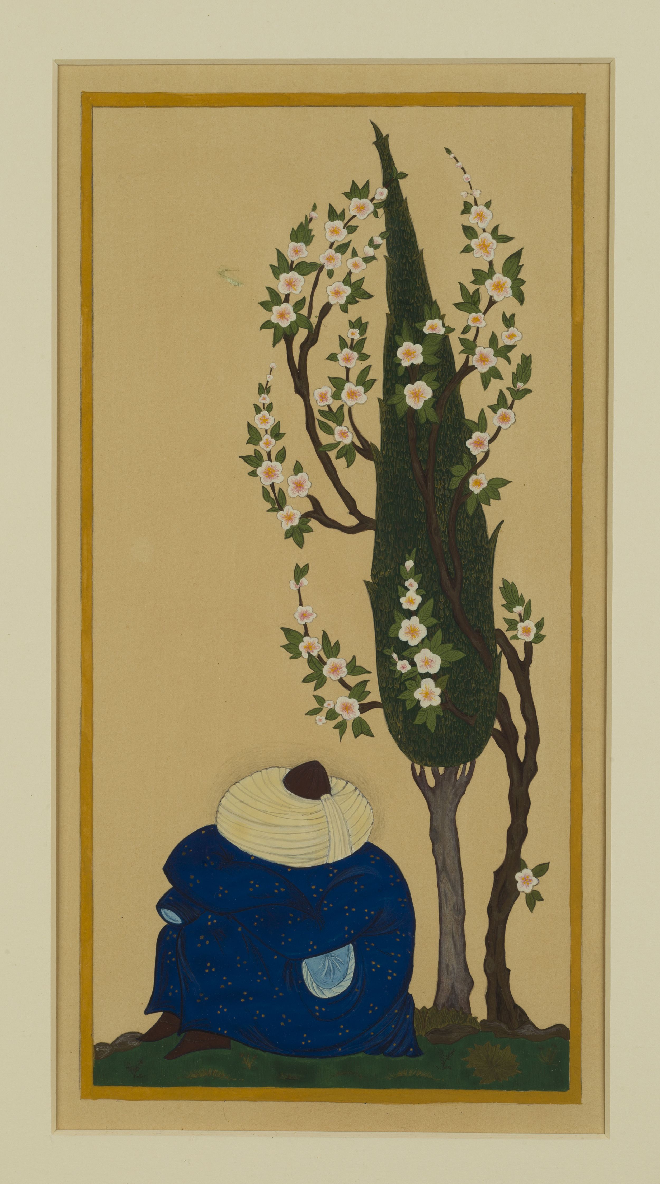 Sleeping Sufi ~ Persian Islamic Art, Pattern Design, Shaheen Kasmani.
