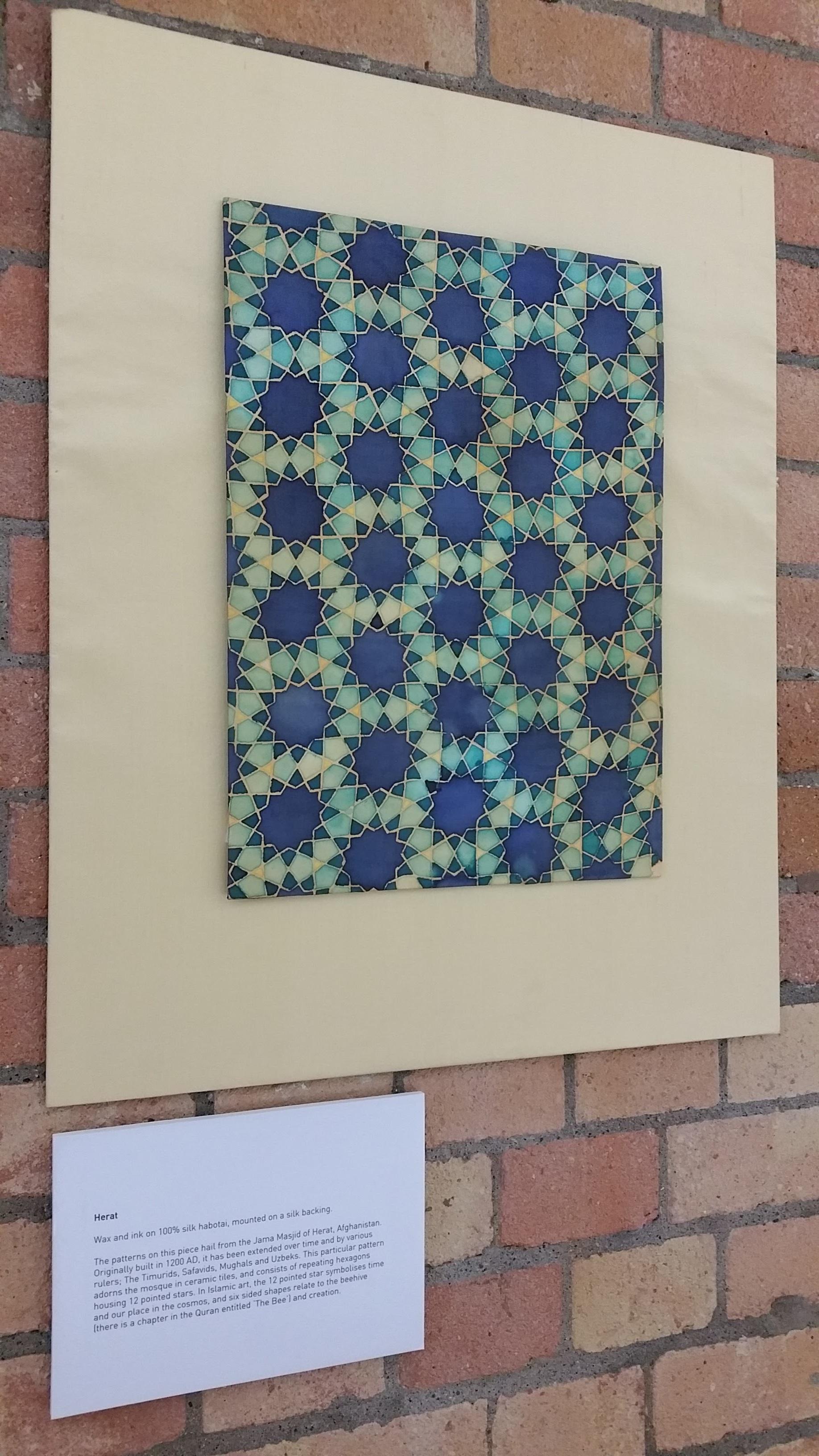 Herat ~ Geometry, Islamic Art, Pattern Design, Shaheen Kasmani